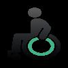 In unseren behindertengerechten Fahrzeugen mit eigener Rollstuhlrampe genießen Sie komfortable Sicherheit